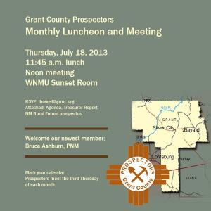 July Prospectors Meeting