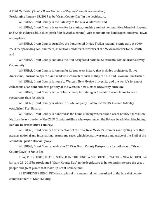Joint Memorial - Grant County 2015-page-001